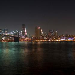 Skyline NYC by night
