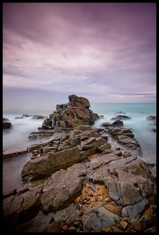 Seascape 4 - Een nieuwe uitdaging om de juiste mood te krijgen met seascapes en een beetje te fiedelen.