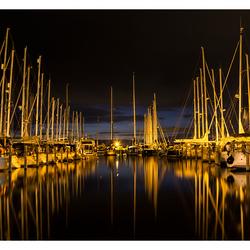 de haven van Hindeloopen