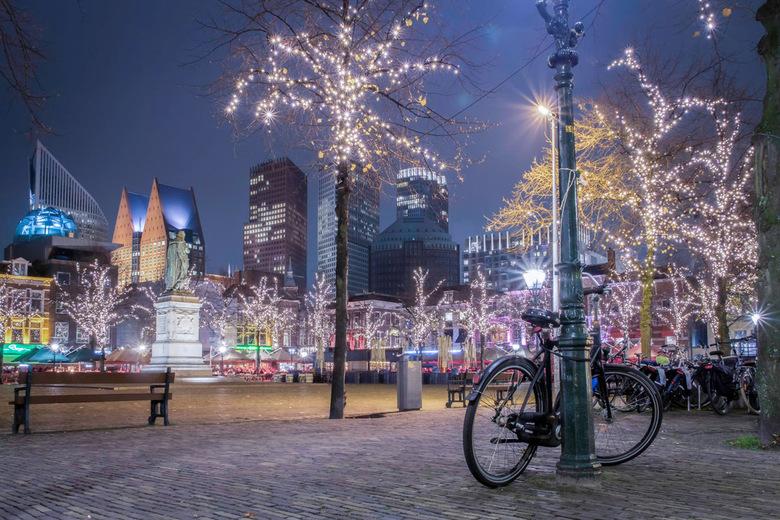 Plein in Den Haag -