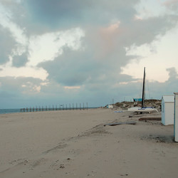 Strand gevoel