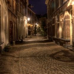 zo maar een straat in deventer (kleur)