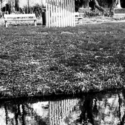 Monumentje in de sloot