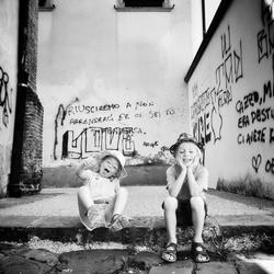 Toscaanse romantiek in graffiti