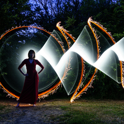 Sparkling tubes