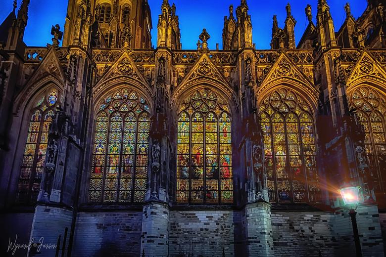 Holy windows - Heilige ramen.<br /> Sint Janskathedraal Den Bosch