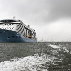 Racen met een cruiseschip