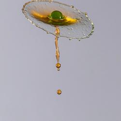 druppelfoto (bloem van water)