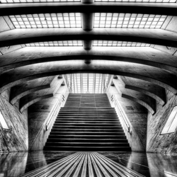Enter the station