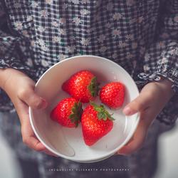 Strawberries are yummy