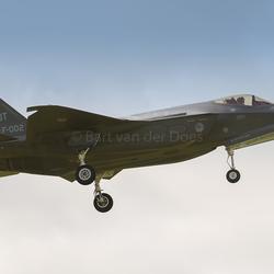 F-35A's - F-002 323 SQN 'OT'