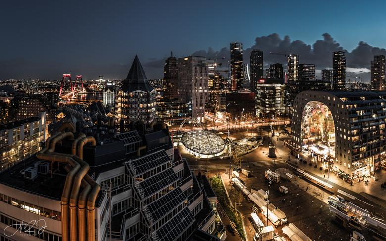 Rotterdam Cityscape - City of Rotterdam