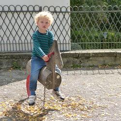 Zwitserse kleinzoon Emanuel.