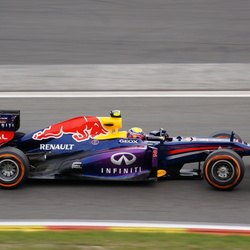 Mark Webber @ GP Spa '13