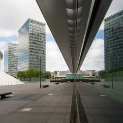 Luxemburg stad - Kirchberg - Place de l'Europe - European Convention Center