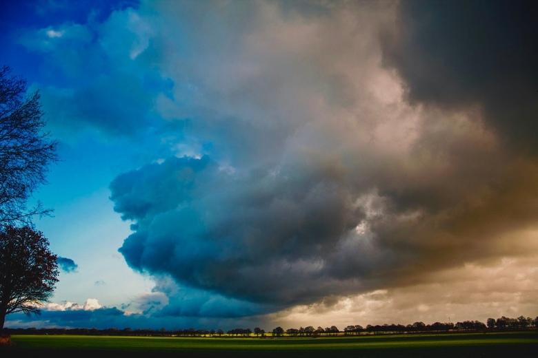 Dreigende luchten/ wolken -