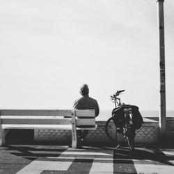 Waiting man