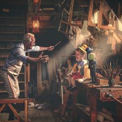 Gepetto's workshop