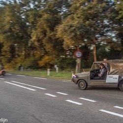 als laatste op weg naar Arnhem