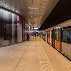 Amsterdam Noord Zuidlijn station Rai