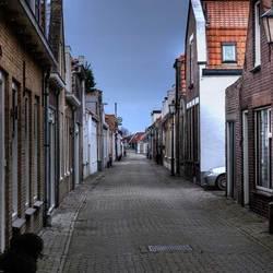Straat in Zeeland