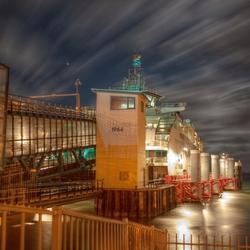 Aanlegsteiger veerboot Texel
