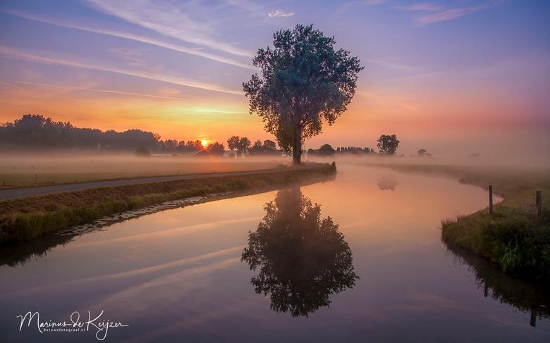 Misty sunrise - Misty sunrise
