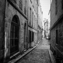 Bordeaux Authentieke Straatfoto