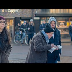 it's cold in Amsterdam