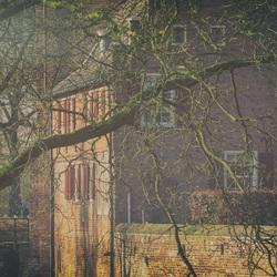 Bewerking: kasteel Doorwerth 2. close-up