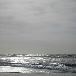 Zilveren strand