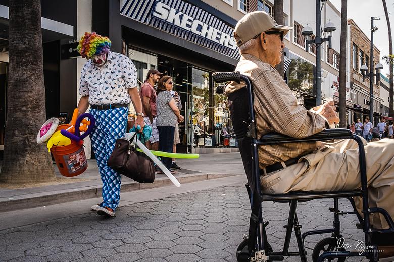 De clown van 3rd street -