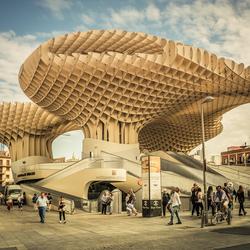 Metropol Parasol in Sevilla, Spanje