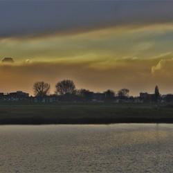 wolken boven Arnhem zuid