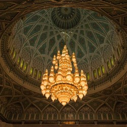 Sultan Qaboos grote Moskee