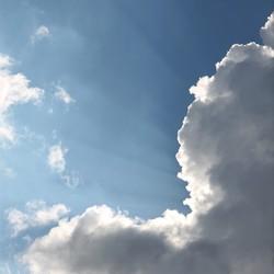 Als Wolken stralen