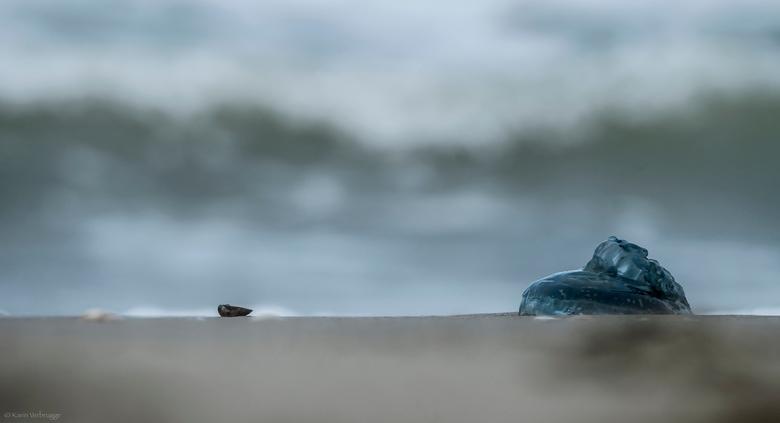 Wachtend op de vloed - Met Brigitte (Puck101259) naar het strand geweest om weer eens te oefenen met de lange sluitertijden. <br /> Komt er toch zoma