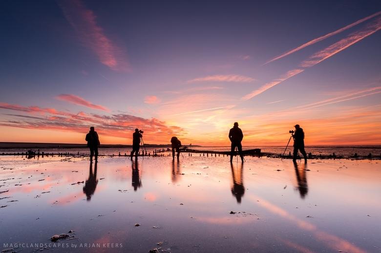 Sky hunters.. - Wat is er nou mooier dan je passie voor landschap samen met andere enthousiaste fotografen te kunnen delen en dan zulke mooie omstandi