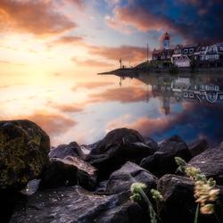 Sunset @ Urk