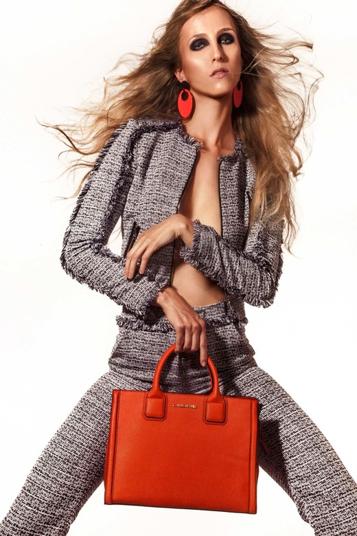 Karl Lagerfeld  - Concept | Photography | Styling : Ramon Heinhuis<br /> <br /> Clothes: Karl Lagerfeld <br /> <br /> Model: Shauni van Gurp @ &#0