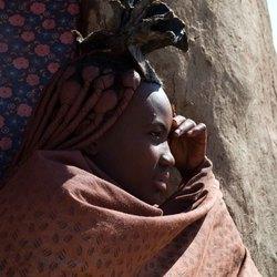 Himba vrouw, Namibie, Afrika