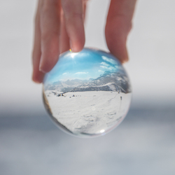 Perfect world inside a little ball