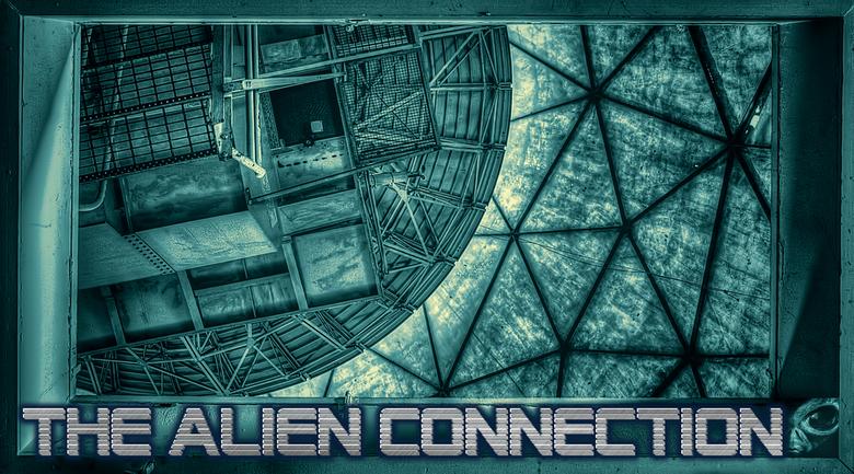 The Alien Connection - Een andere kijk op Zone B. En bewerkt, daarom ook gepost in bewerkte fotografie.