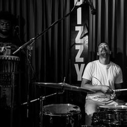 Satindra Kalpoe on drums