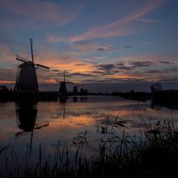 Zonsopkomst Kinderdijk - 2