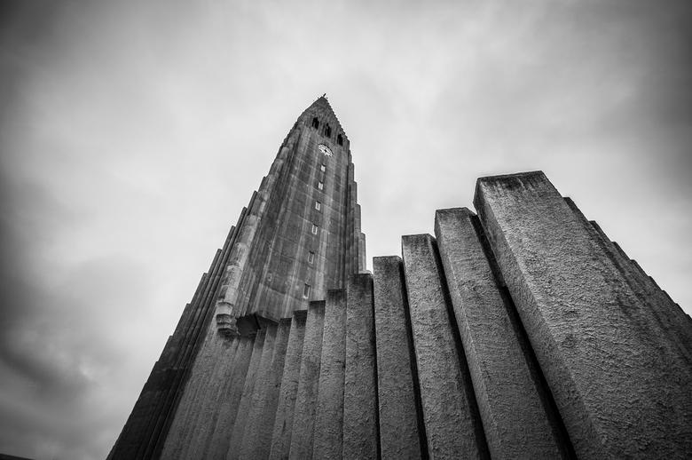 Hallgrimskirkja Church, Reykjavik Iceland