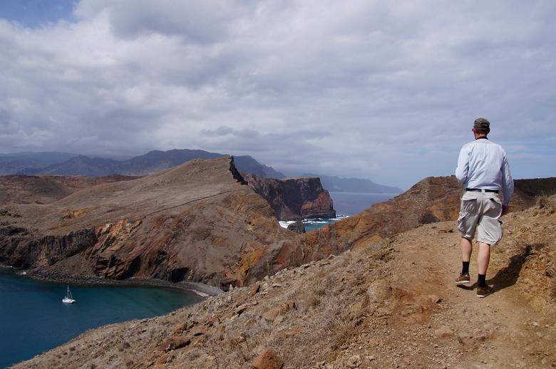 Oostkust Madeira - wandeling over de lavarotsformaties bij Ponta de Sao Lourenco op Madeira