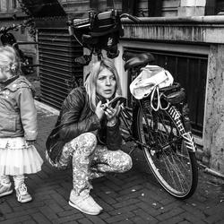 Schat heb jij mijn fietssleutel???