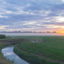 Ijlst - Friesland in de morgen