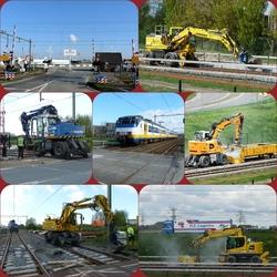 FotoJet Collage werkz heden  RET metrolijn hvh april 2017